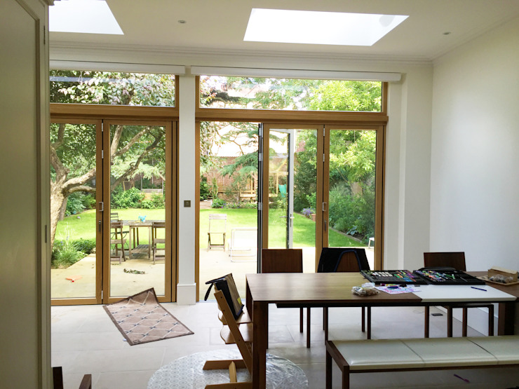 Rear Extension Dining Area - As Built by Arc 3 Architects & Chartered Surveyors