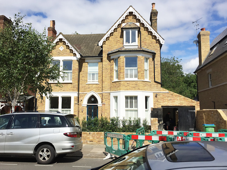 Front Elevation - As Built by Arc 3 Architects & Chartered Surveyors