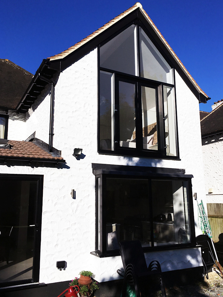 Two Storey Rear Extension - As Built Arc 3 Architects & Chartered Surveyors