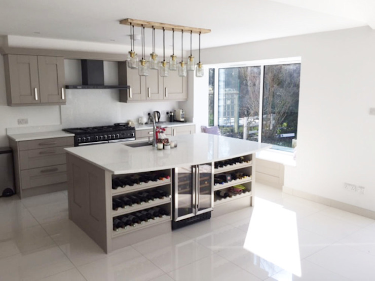 Kitchen - As Built by Arc 3 Architects & Chartered Surveyors