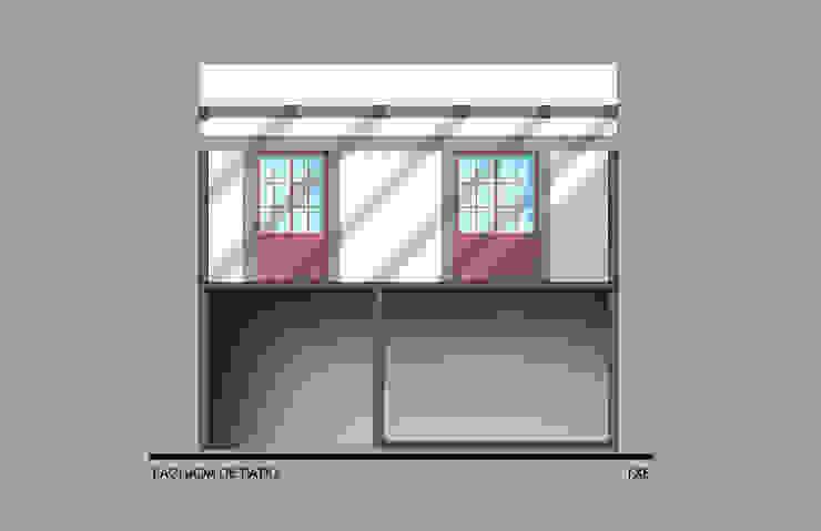 Fachada acceso a recamaras Casas modernas de ODRACIR Moderno