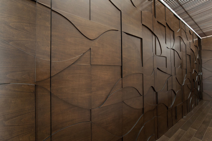 Modern walls & floors by VMArquitectura Modern Concrete