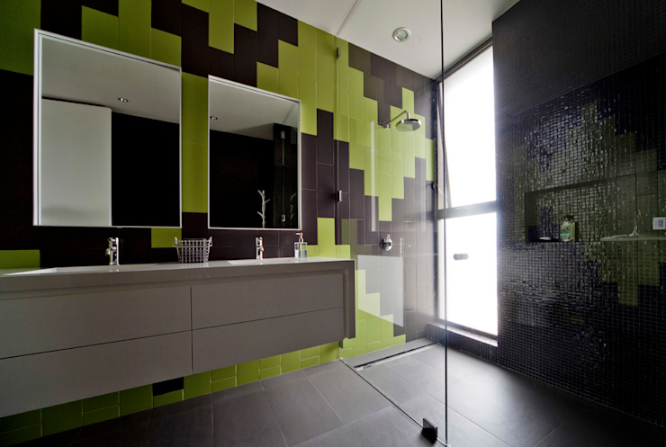Modern style bathrooms by VMArquitectura Modern Concrete