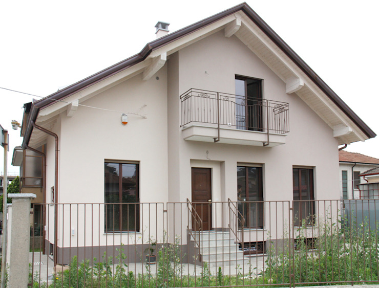 Fabio Ricchezza architetto Modern Houses