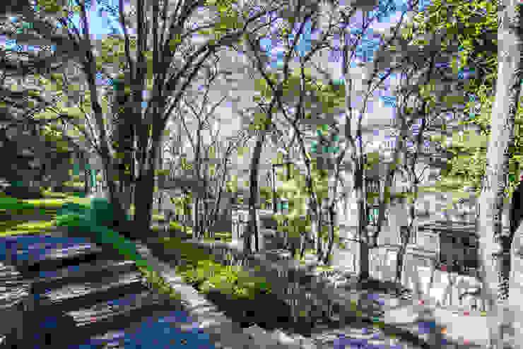 Paseo 82 Balcones y terrazas modernos de Sobrado + Ugalde Arquitectos Moderno