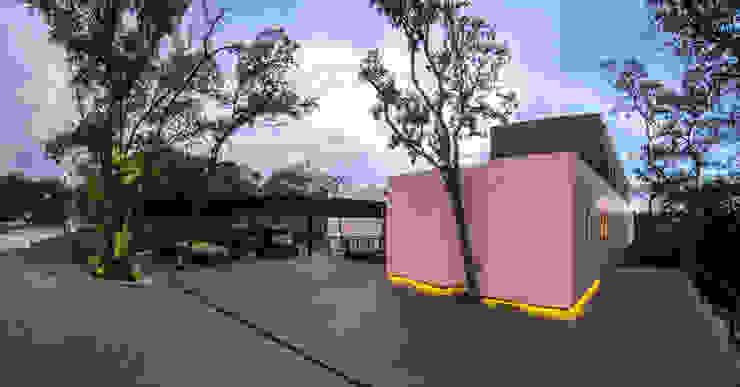 Real de Hacienda Casas modernas de Sobrado + Ugalde Arquitectos Moderno