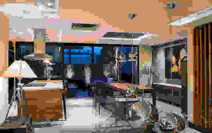 Ruang Makan Modern Oleh Sobrado + Ugalde Arquitectos Modern