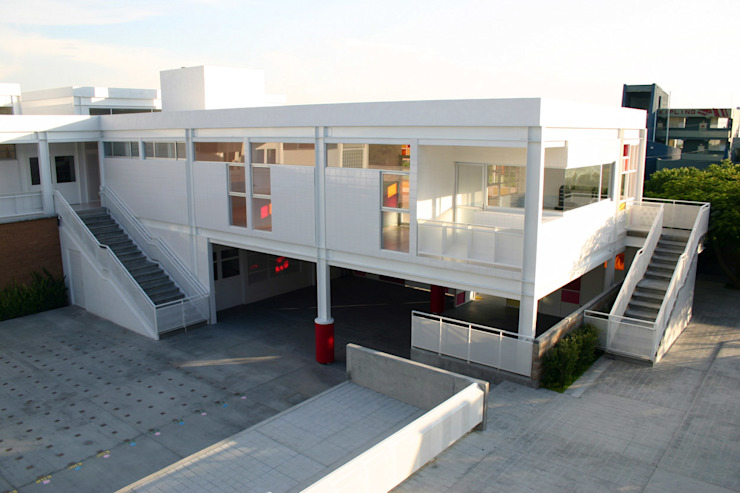 Kinder Kipling Irapuato - VMArquitectura Casas modernas de VMArquitectura Moderno Concreto