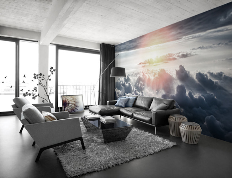 Dreams come true Pixers Modern Living Room Blue