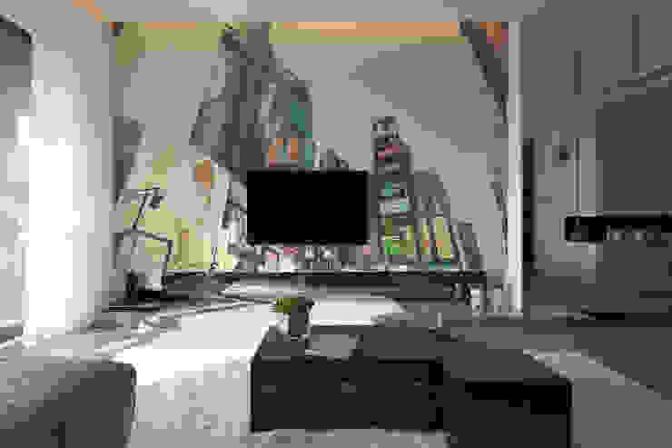Salas de estilo  por homify, Moderno