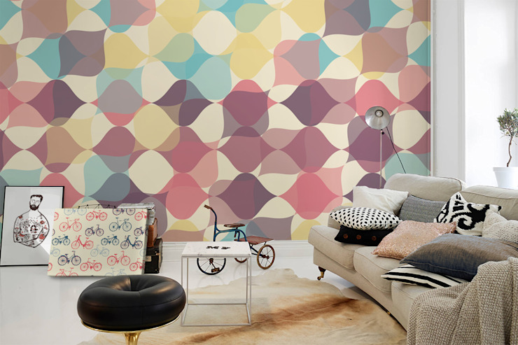 Retro Pattern by Pixers Eclectic
