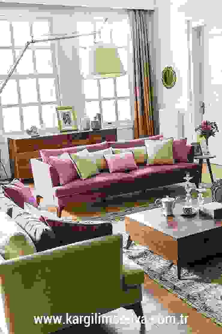 Kargılı Ev Mobilyaları – Almoda Modern Koltuk Takımı: modern tarz , Modern