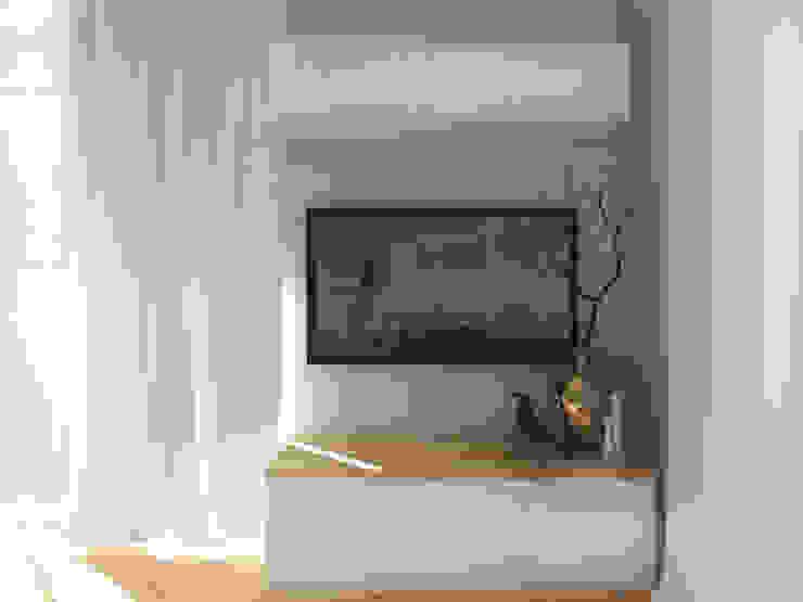 北欧デザインの リビング の ZAZA studio 北欧 木 木目調