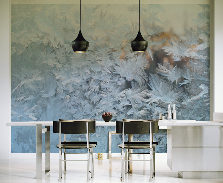 Frost Pixers Minimalist dining room Multicolored
