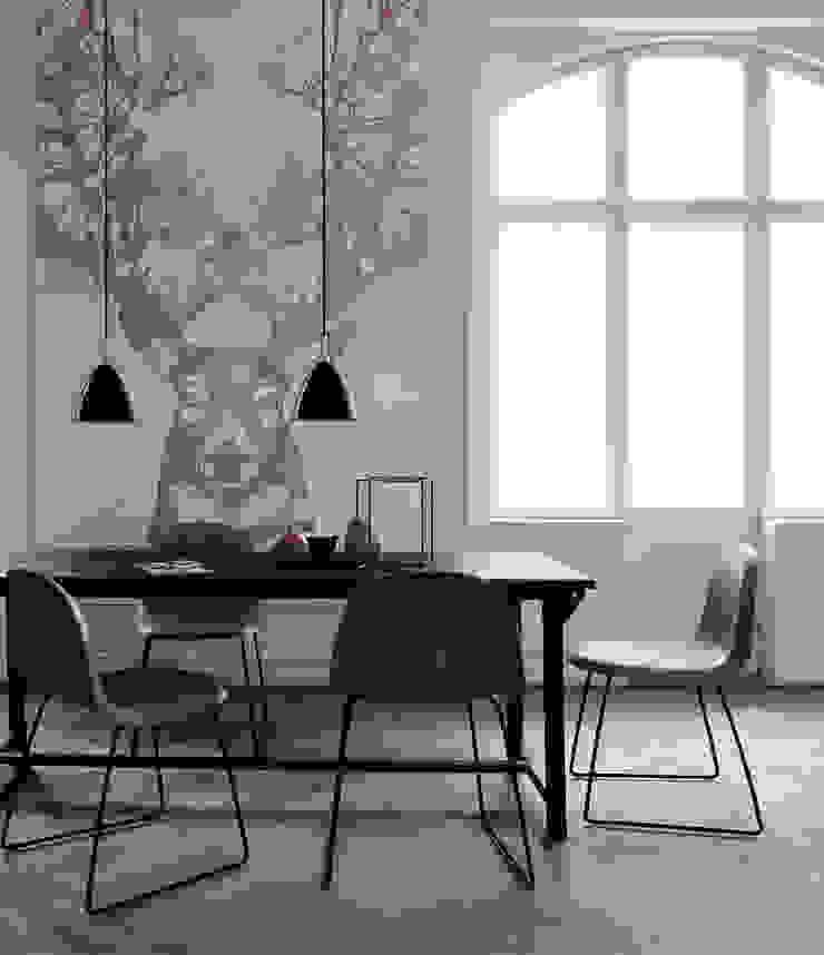 Deer's Blue Eyes Pixers Modern Dining Room Multicolored