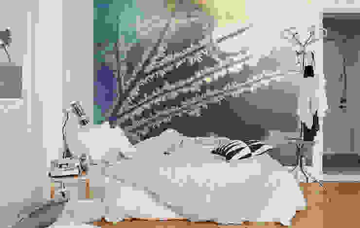 Rime Scandinavian style bedroom by Pixers Scandinavian