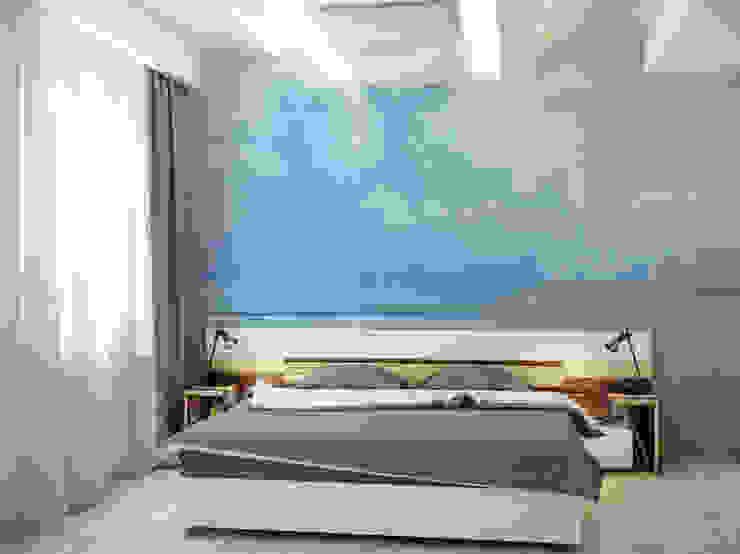 Coast Pixers Minimalist bedroom Blue
