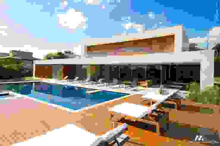 Mario Moreno Arquitetura e Design Moderne Pools