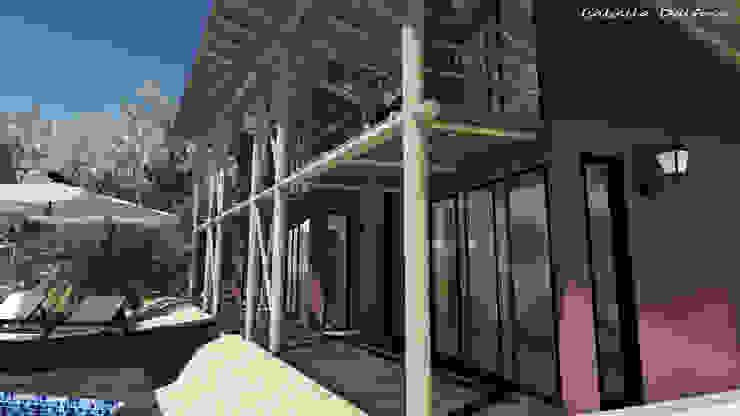 de estilo tropical por Isabella Dalfovo Arquitetura , Interiores e  Construção, Tropical