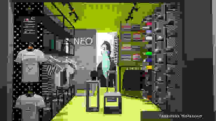 Moderne Geschäftsräume & Stores von Isabella Dalfovo Arquitetura , Interiores e Construção Modern