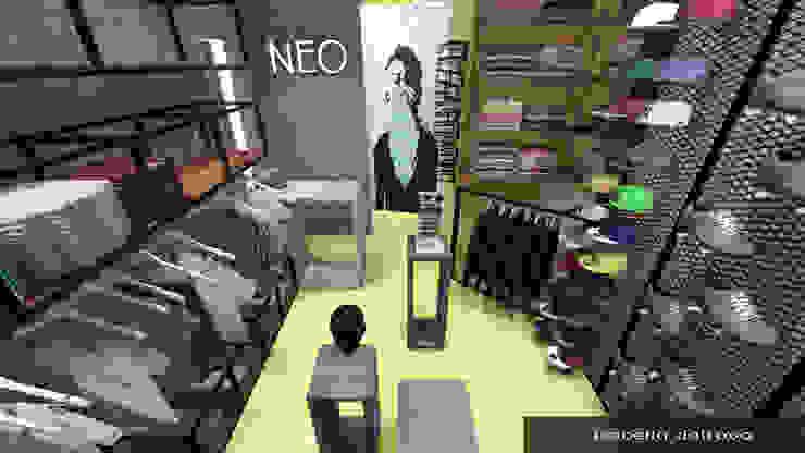 Industriale Geschäftsräume & Stores von Isabella Dalfovo Arquitetura , Interiores e Construção Industrial