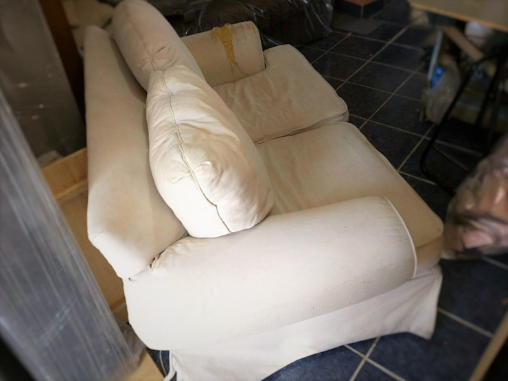 Love Seat antes de la modificación de Estilo en muebles
