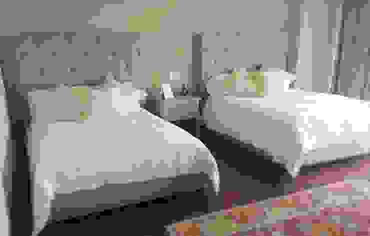 Cabeceras y camas individuales de Estilo en muebles Moderno Sintético Marrón