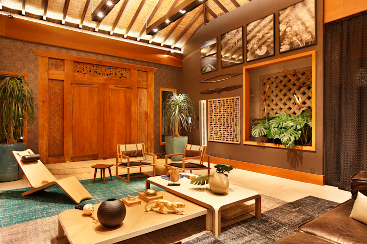 by homify Asian Wood Wood effect