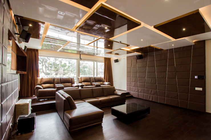 Home Theater: modern  by A360architects,Modern