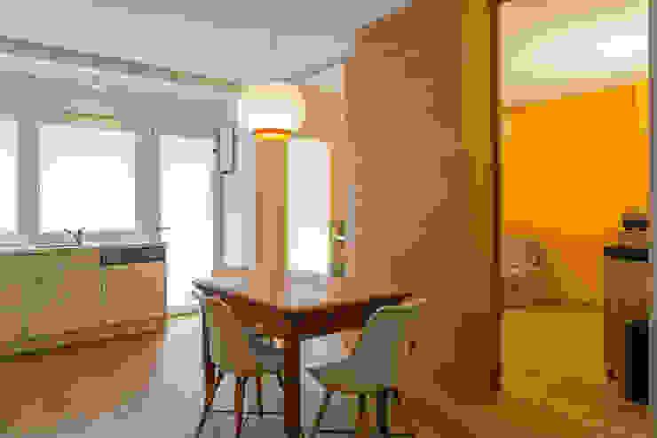Apartment G&G Manuel Benedikter Architekt Soggiorno classico