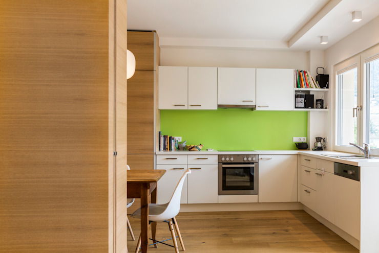 Apartment G&G Manuel Benedikter Architekt Cucina in stile classico