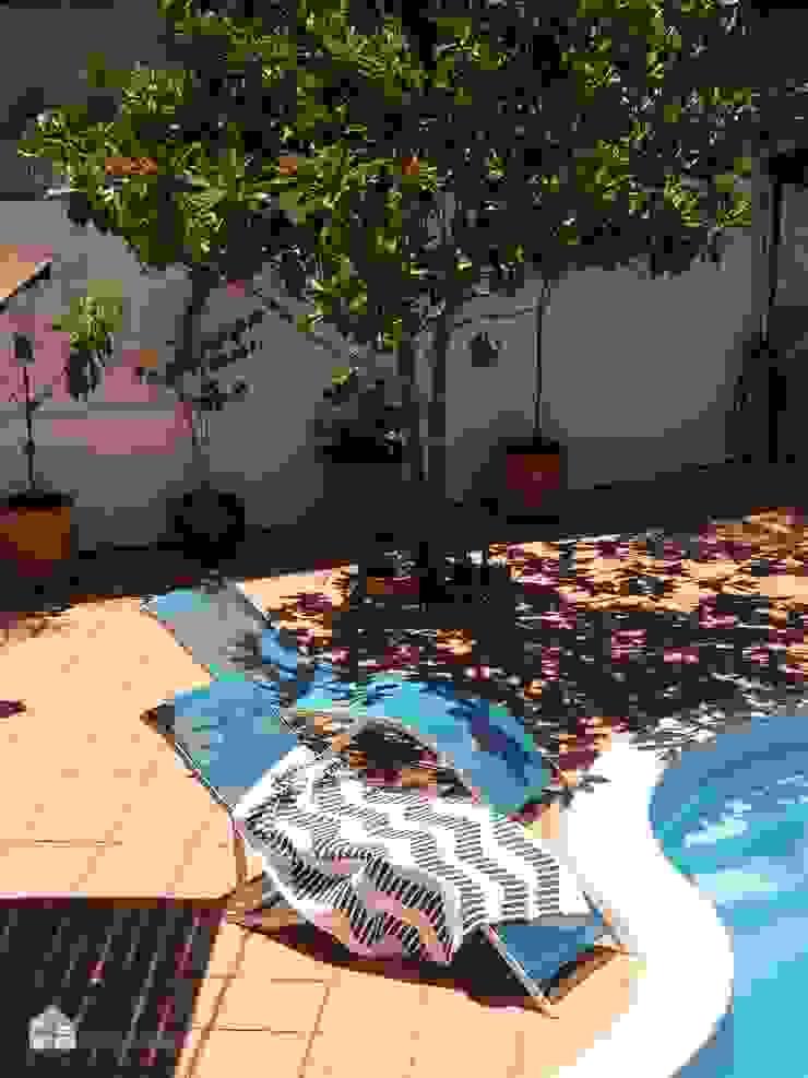 by custom casa home staging Mediterranean