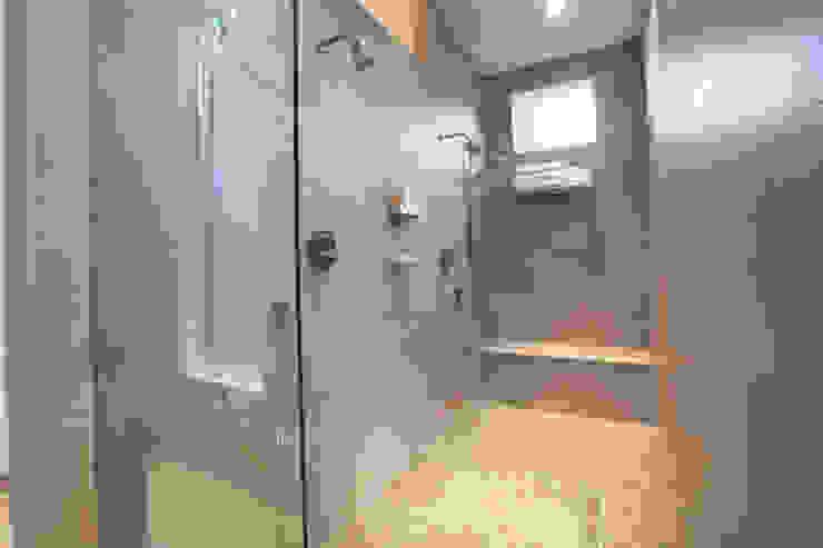 Master Bathroom Remodel RedBird ReDesign Modern bathroom Glass