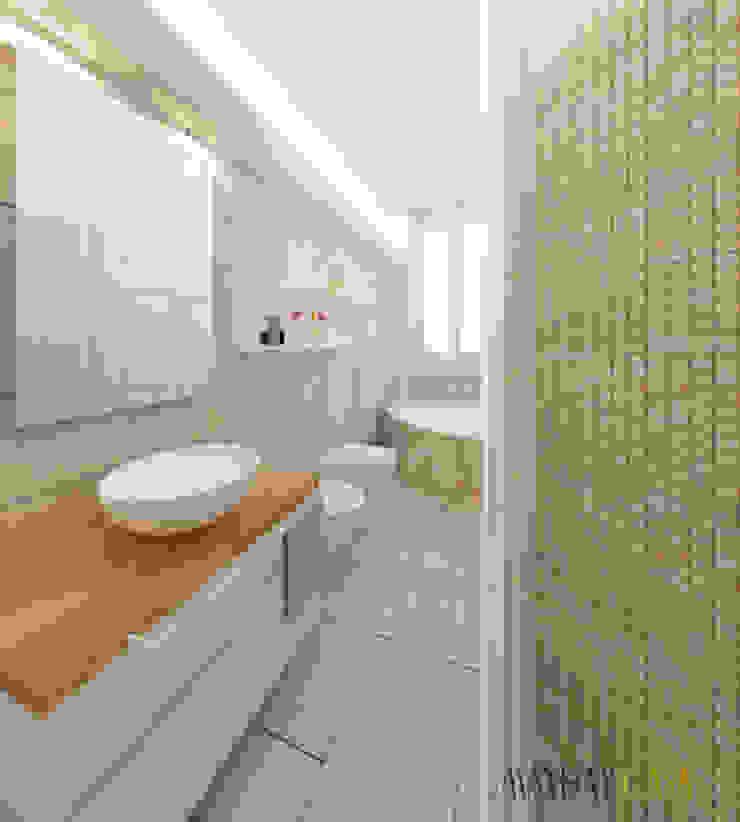 Azzurra Lorenzetto Modern bathroom Stone Beige