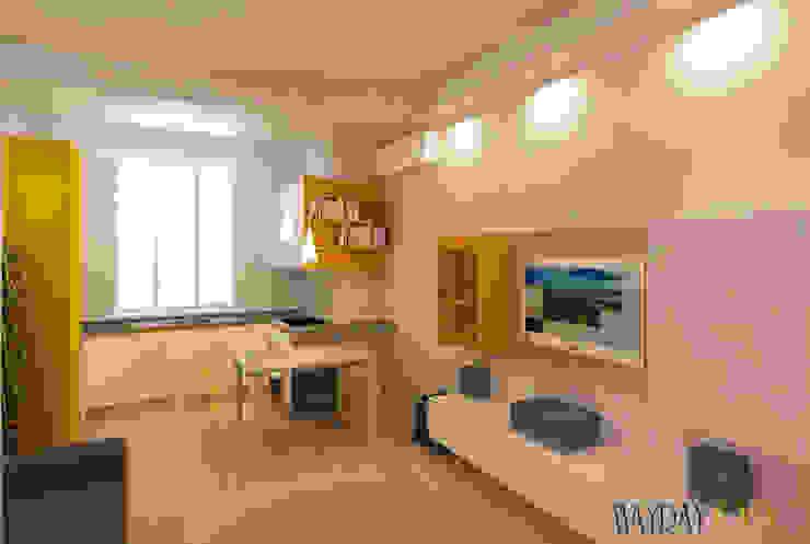 Azzurra Lorenzetto Modern kitchen Wood White
