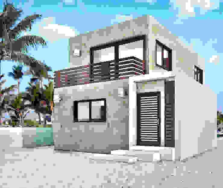 Case moderne di MUTAR Arquitectura Moderno