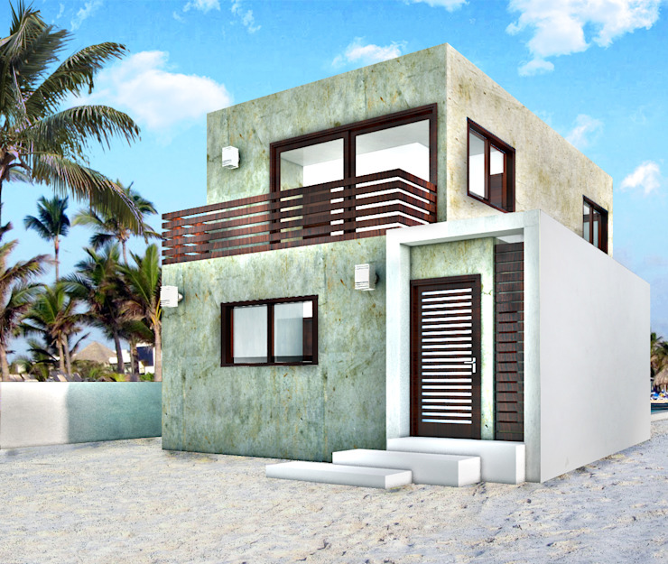 Дома в . Автор – MUTAR Arquitectura,