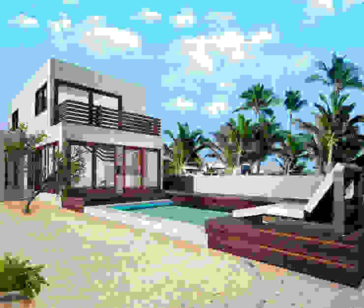 Moderne Pools von MUTAR Arquitectura Modern
