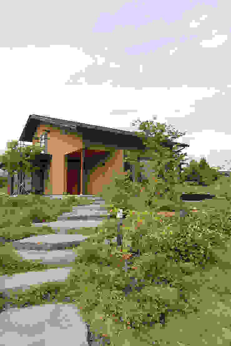アプローチ 藤松建築設計室 庭植木&花
