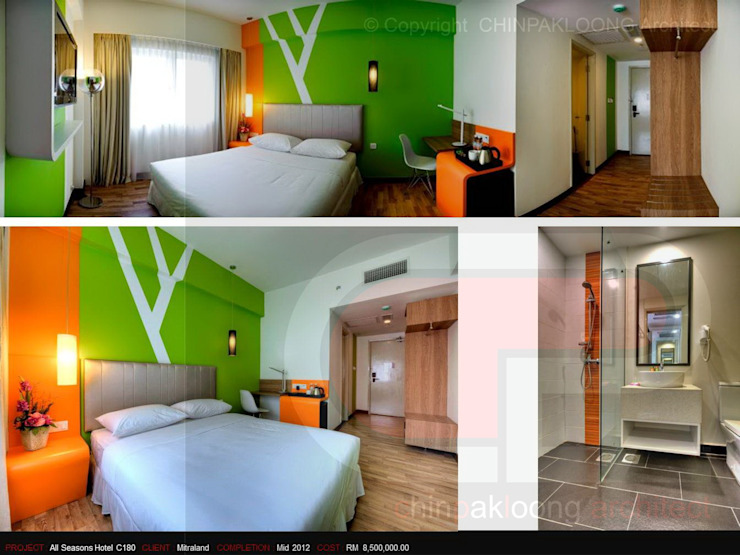 IBIS Styles Hotel @C180 by CHINPAKLOONG Architect Modern