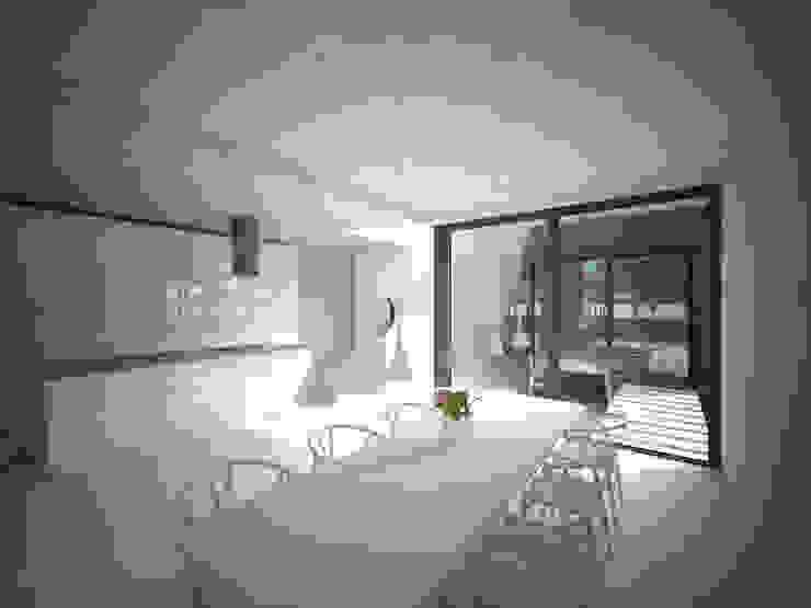 Woonhuis JWVRA Minimalistische eetkamers van artisan architects Minimalistisch Hout Hout