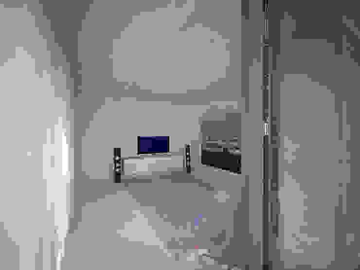 Woonhuis JWVRA Minimalistische mediakamers van artisan architects Minimalistisch Hout Hout