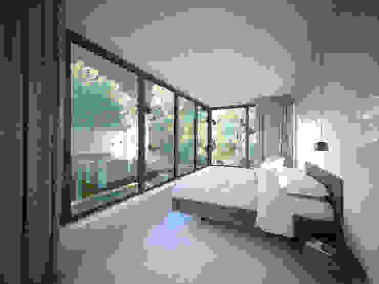 Woonhuis JWVRA Minimalistische slaapkamers van artisan architects Minimalistisch Hout Hout