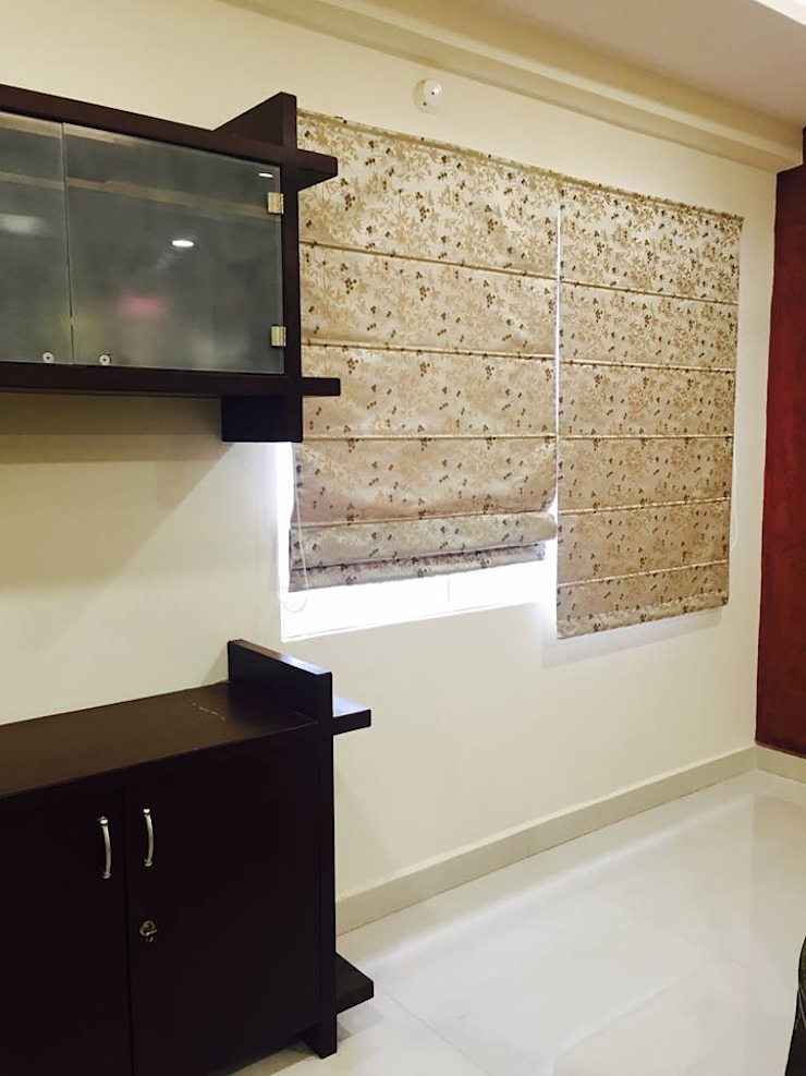 Residential 3bhk, Madhapur Modern dining room by DeTekton Modern