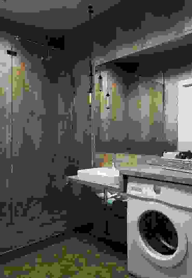 ДизайнМастер Industrial style bathroom Brown