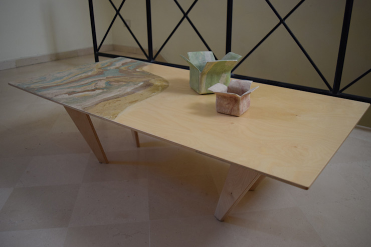 MALTA DI GERIS Salas/RecibidoresMesas de centro y auxiliares Derivados de madera