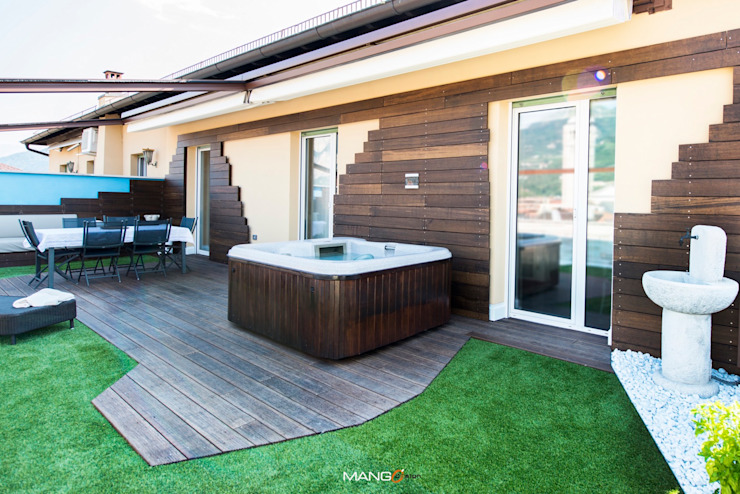 Patios & Decks by Mangodesign, Modern