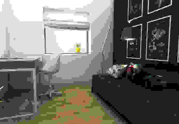Skandinavische Kinderzimmer von MFA Studio Sp z o.o. Skandinavisch