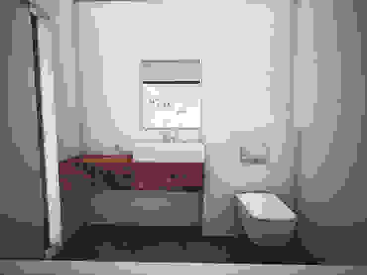 Skandinavische Badezimmer von MFA Studio Sp z o.o. Skandinavisch