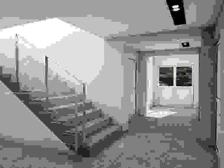 Modern Corridor, Hallway and Staircase by MFA Studio Sp z o.o. Modern